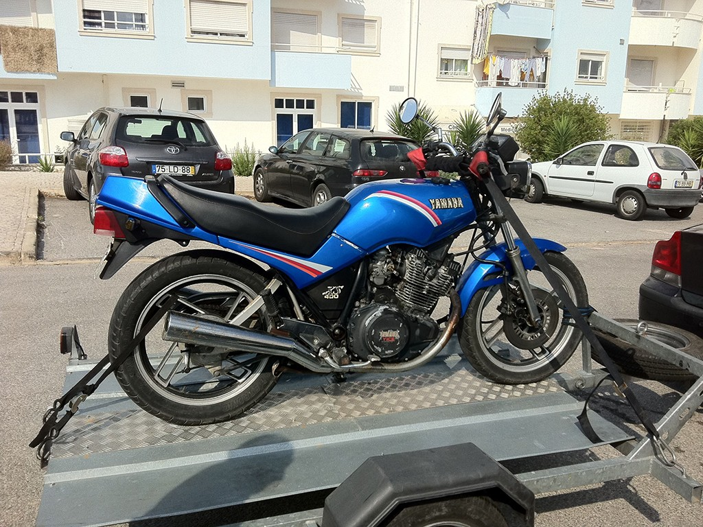 yamaha xs 400 thyrso motorcycles. Black Bedroom Furniture Sets. Home Design Ideas